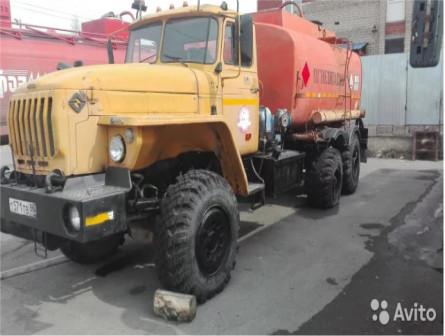 Урал 4320 атз Топливозаправщик бензовоз 12куб 2008