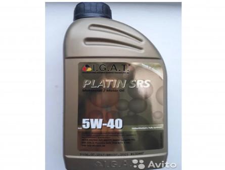 Моторное масло igat 5w40