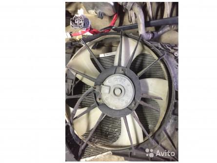 Вентилятор охлаждения на тойота Корола 180 Toyota