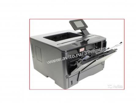 Принтер крутой HP LaserJet PRO 400 лазерный