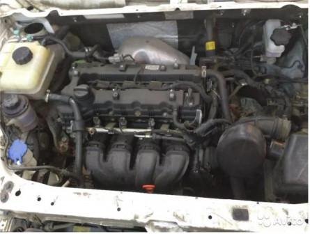 Двигатель в сборе Ссанг Йонг Актион Нью бензин