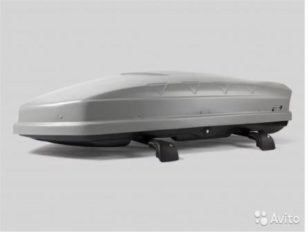 Автобоксы nobu sport 600 л серый