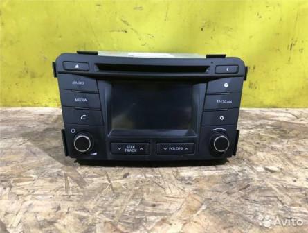 Штатная магнитола под камеру Hyundai I40