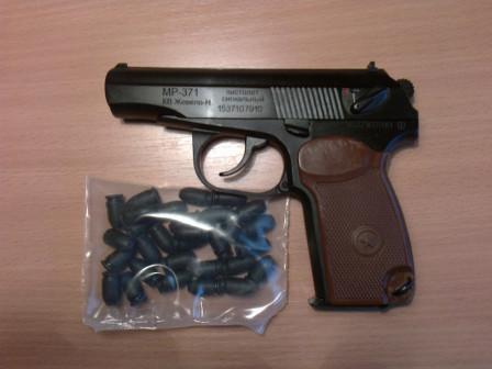 Сигнальный пистолет МР 371 с бородой