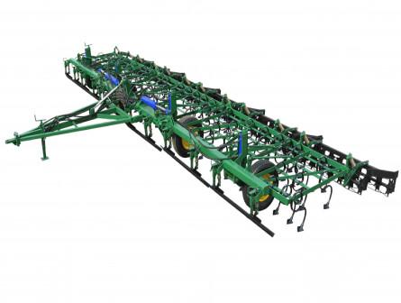 Культиватор прицепной широкозахватный для предпосевной обработки почвы КПШ-9,6