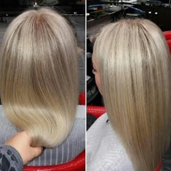 Окрашивание волос омбре, шатуш, 3-D, растяжка цвета, юао