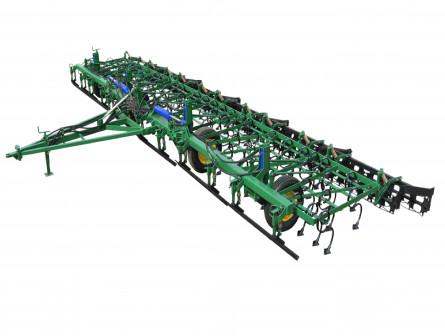 Культиватор прицепной широкозахватный для предпосевной обработки почвы КПШ 5,0  КПШ-7,2