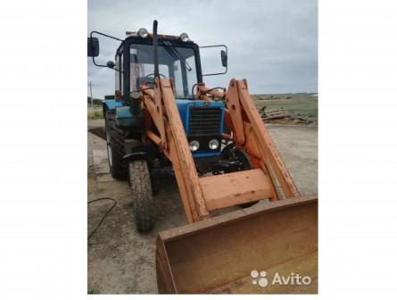 Трактор мтз-80 экскаватор кун Беларус