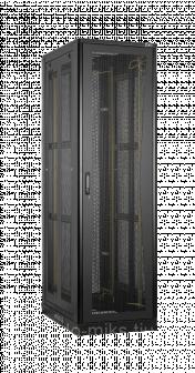 Серверный шкаф 19, 24U, Ш600хВ1309хГ1000мм, черный