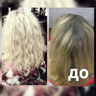 Окрашивание  волос -DAVINES (Италия) и SCHWARZKOPF в Москве м. Домодедовская ЮАО