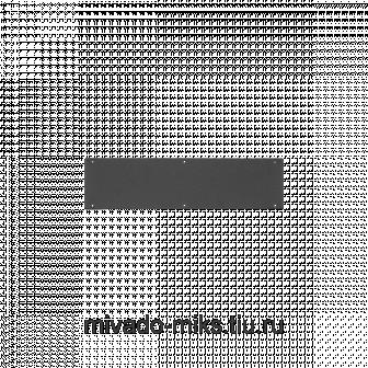 Заглушка кабельного ввода TLK, 300х76х1мм, черная