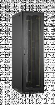 Серверный шкаф 19, 33U, перфорированные двери, цельнометалические стенки, Ш800хВ1701хГ1000мм, в раз