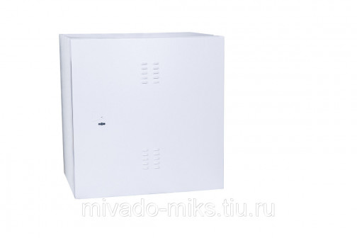 Шкаф уличный настенный климатический 19, 12U, Ш665xВ816хГ605мм, цельносварной, крепление на стену