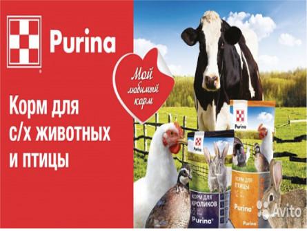 Корм для с/х животных Пурина Purina