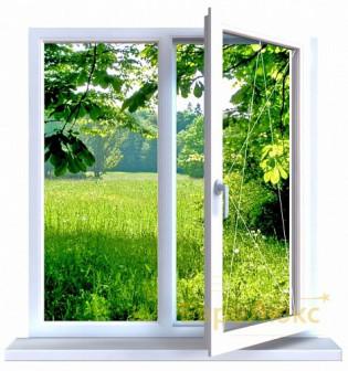 окно 2-хстворчатое