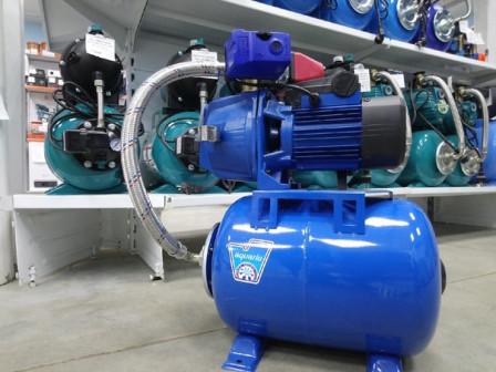 Станция автоматического водоснабжения Aquario AJC-81(H)