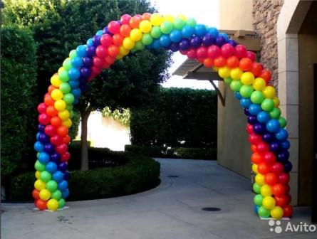 Заказать арку из шаров