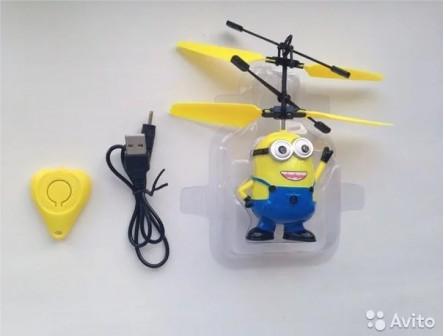 Игрушка летающий Миньон с пультом
