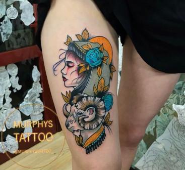 Яркие татуировки!!!