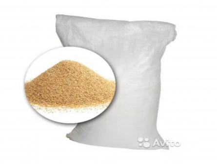 Песок кварц 0.5-0.8 в мешках по 25 к