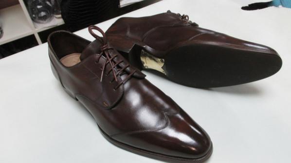 реставрация и ремонт мужской обуви