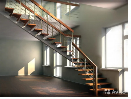 Лестницы из металла
