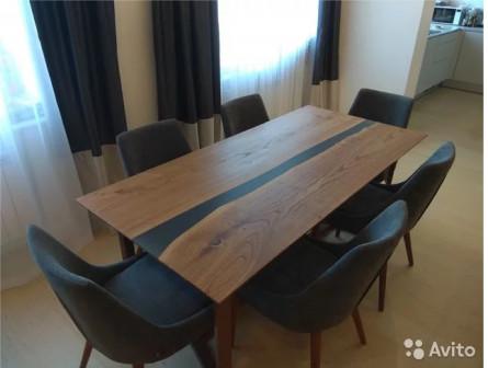 Обеденный стол из слэба 190х90см
