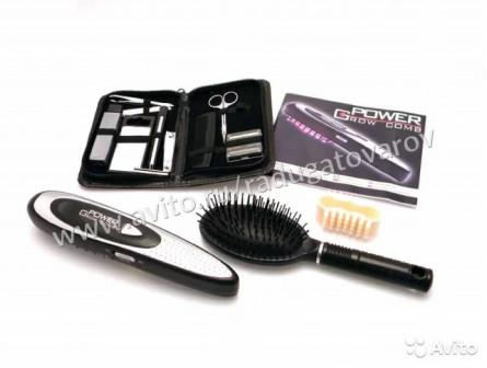 Лазерная расческа power grow comb + дорожный набор