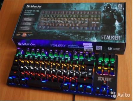 Клавиатура игровая механическая