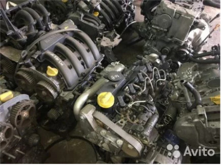 Двигатель МКПП АКПП Renault Оригинальные Запчасти