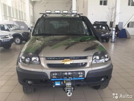 Chevrolet Niva, 2019 новый