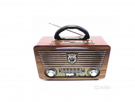 Meier M-U115 - Ретро Радиоприемник с USB и SD