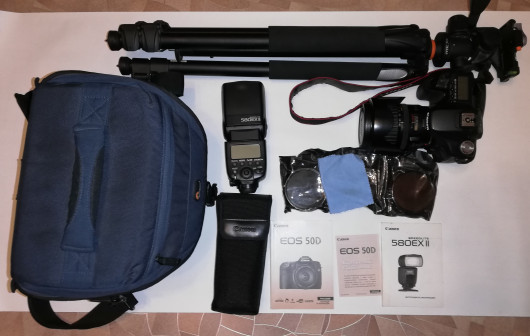 Фотоаппарат Canon EOS 50D + всё необходимое