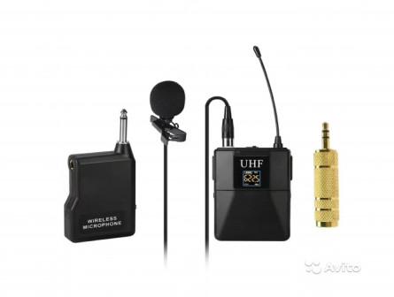 Беспроводной радиопетличный микрофон kexu