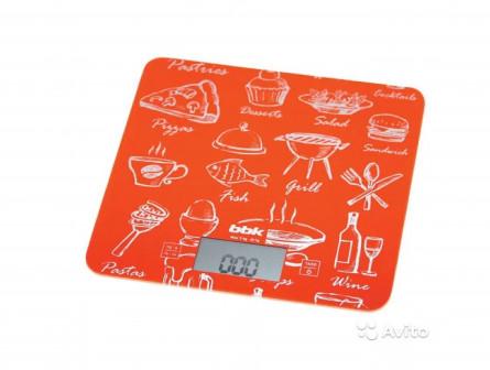 Кухонные весы в радужном дизайне BBK KS108G