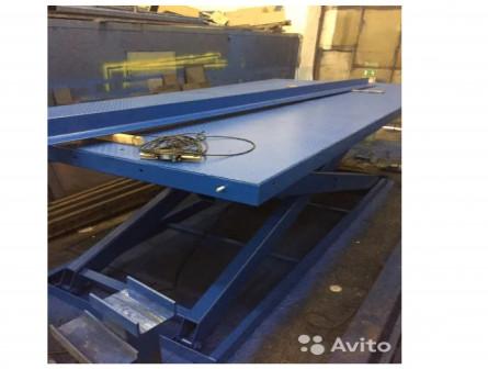 Подъемный стол 5900х2800 ход 3650 мм гп 3000 кг
