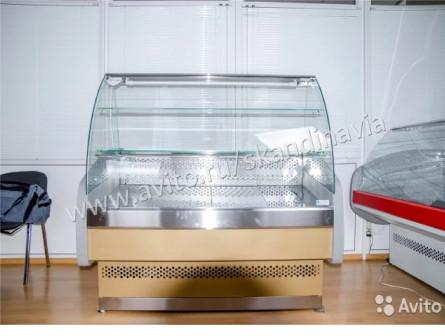 Кондитерская витрина-прилавок Скандинавия 3П150К