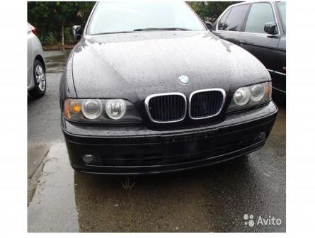 Разбор BMW e39 m54b25 black sapphire metallic 475