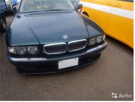 Разбор BMW e38 740i Япония