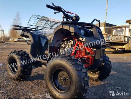 Квадроцикл Raptor 125 h +шлем,цепи