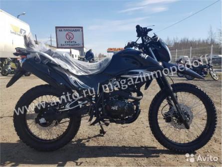 Мотоцикл Lifan YX 250GY-C5C Black + шлем в подарок
