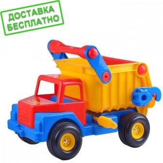 Автомобиль самосвал 1 с резиновыми колёсами