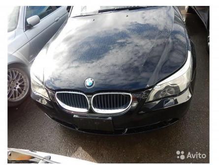 Разбор BMW e60 m54b30 black sapphire metallic (475