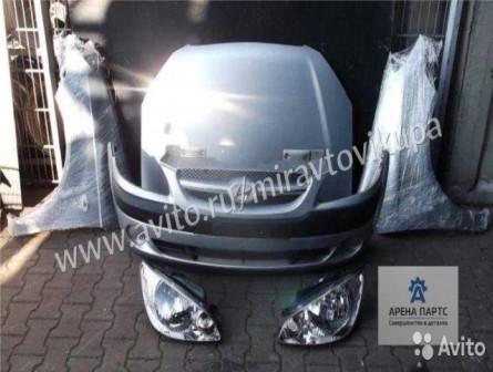 Hyundai Getz 2002-2010 год Капот Фара Бампер Крыло