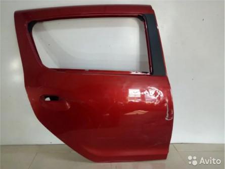 Дверь задняя правая Renault Sandero- 2 хечбек 5