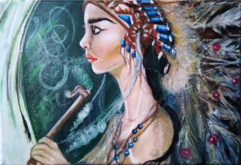 Картина Звуки шаманов