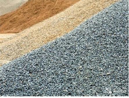 Щебень, песок, отсев. Доставка и самовывоз