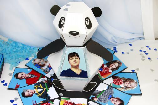 "Фотокоробка""Панда"""