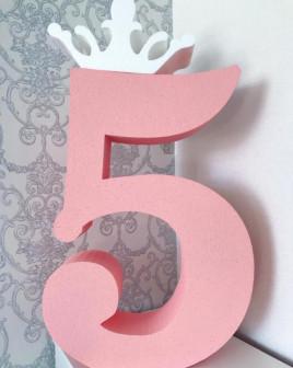 Цифры на день рождения, свадьбы, юбилеи