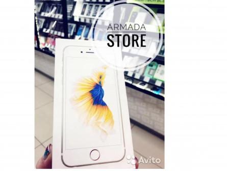 iPhone 6s 16Gb золотой с Touch ID.Кредит